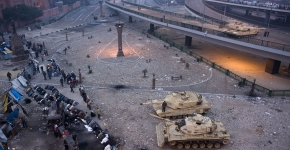 The battle for Tahrir Square