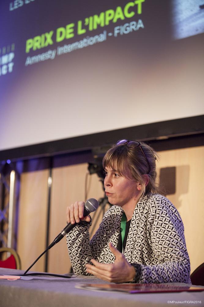 Cecile Allegra - Prix de l'Impact FIGRA 2016