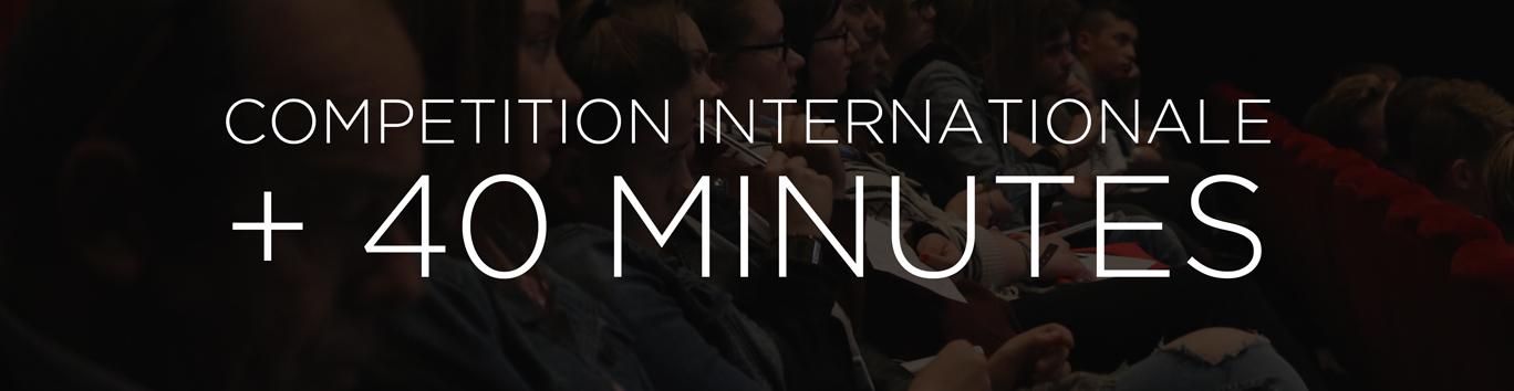 Catégorie Compétition Internationale de plus de 40 minutes